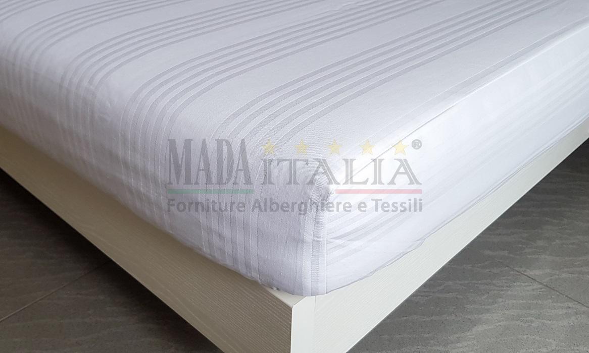 GBiancheria COPRIMATERASSO Confort con Angoli ELASTICIZATI in Spugna Jacquard Elasticizzata 1 Piazza 1//2
