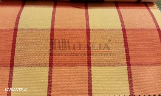 Vendita Tessuto Arancio Giallo41