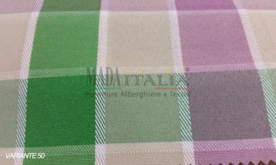 Vendita tovaglia verde viola50