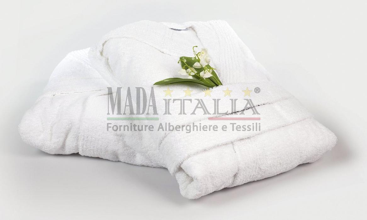 Vendita Accappatoio Cappuccio Bagno Spa Centri Benessere Mada Italia