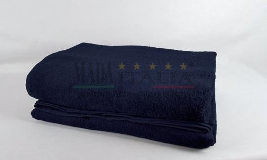 Vendita Asciugamano Telo Maxi Spugna 100x200 Blu Notte Centri Estetici Massaggi Benessere