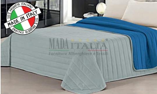 Copriletto Trapuntato Royal/Grigio Mada Italia
