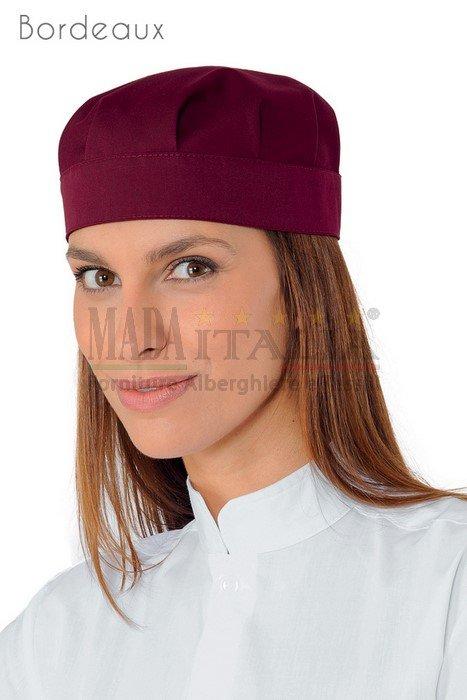 Vendita Cappellino Ristorazione Bob Bordeaux