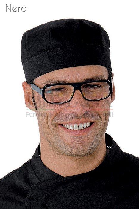 Vendita Cappellino Ristorazione Bob Nero
