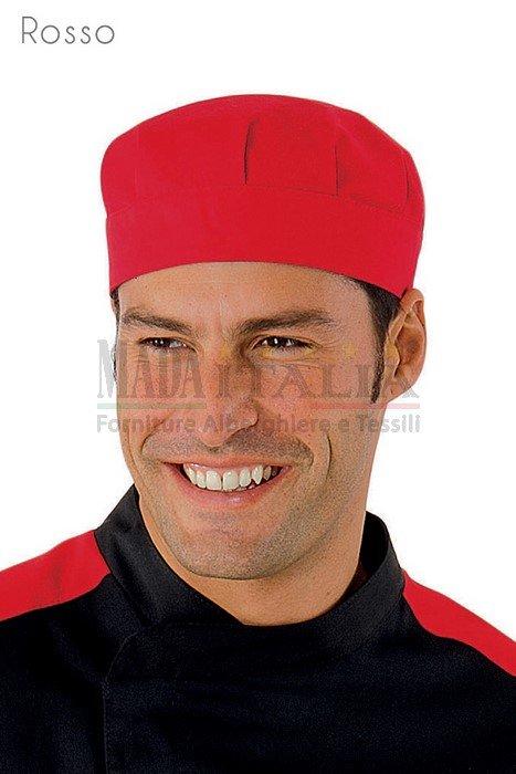 Vendita Cappellino Ristorazione Bob Rosso