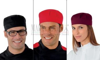 Vendita Cappellino Ristorazione Stoffa Bob