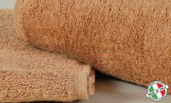 Asciugamani Spugna Italia Cammello 450gr/mq