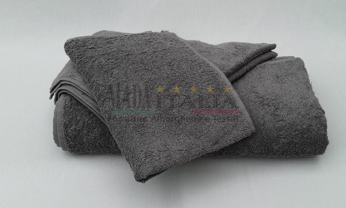 Vendita asciugamani spugna bagno color moka fango - Asciugamani bagno firmati ...