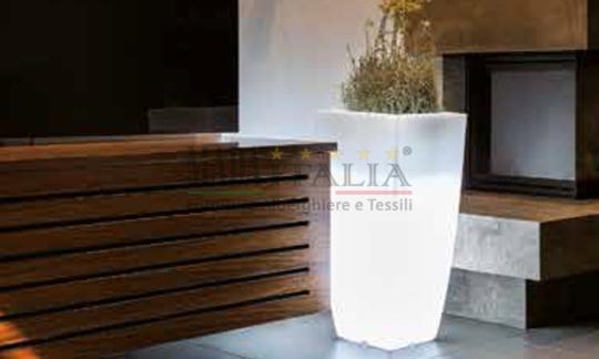 Vendita vaso luminoso hotel style quadro