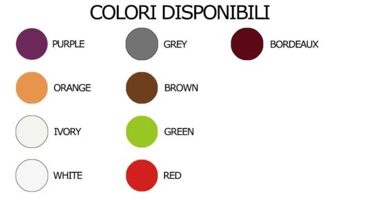 colori disponibili vaso garden