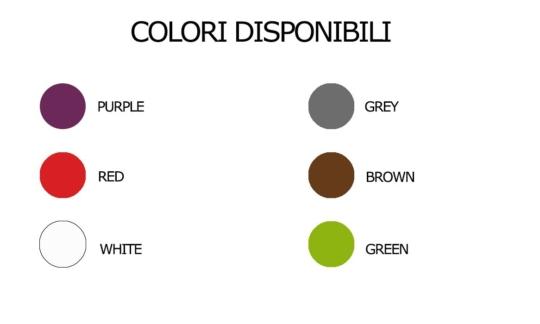 colori disponibili vaso life