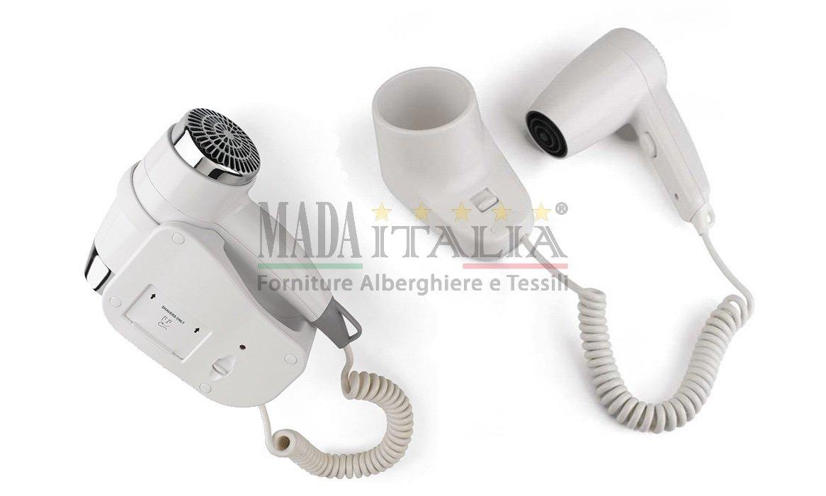 categoria asciugacapelli elettrico parete hotel