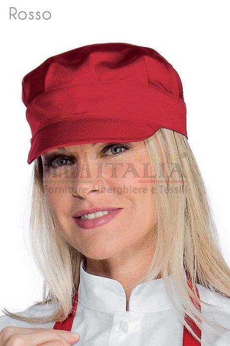 Vendita Cappello Barista Sam Rosso