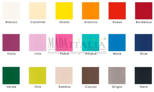 Vendita Colori Monouso Tessuto TNT Tinta Unita