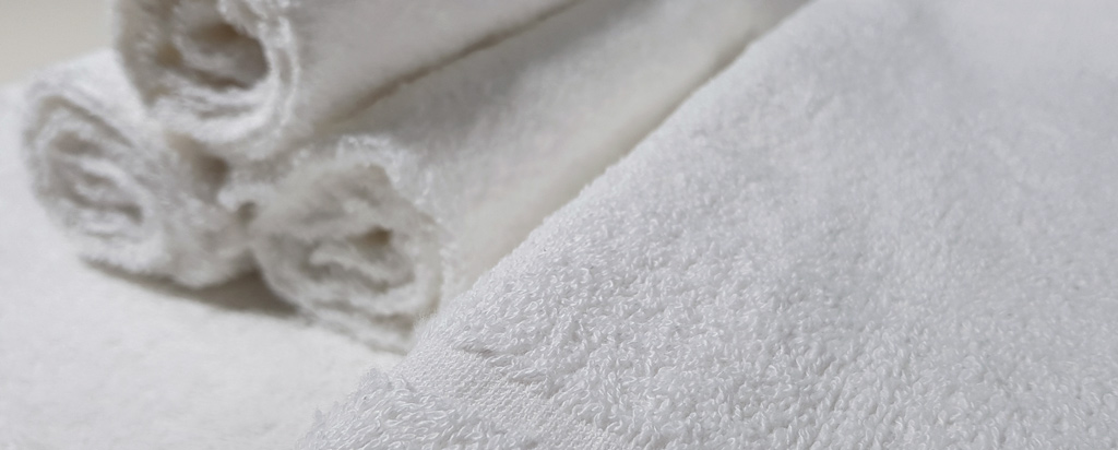 Dettaglio Asciugamani Spugna