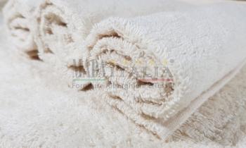 Vendita Asciugamano Ospite Spugna Bagno Ecru 450 grammi