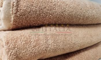 Vendita Asciugamano Telo Maxi Spugna 100x200cm Cammello 450 grammi