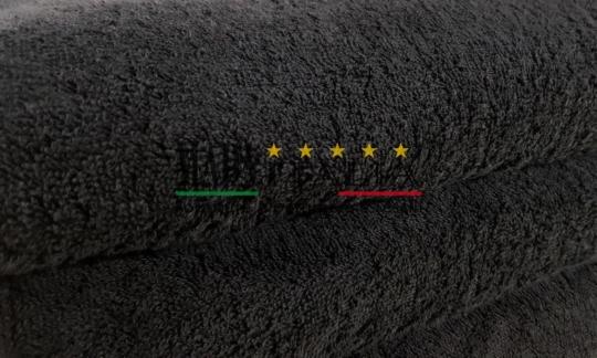 Vendita Asciugamano Telo Maxi Spugna Nero 100x200 Centri Estetici Massaggi Benessere