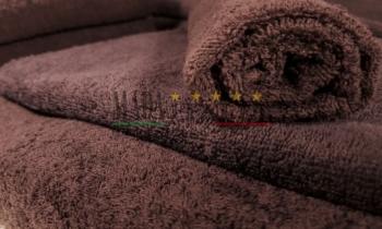 Asciugamani Spugna Italia Testa di Moro 450gr/mq