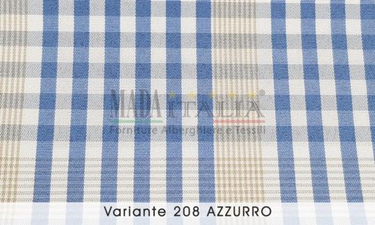 Vendita Tessuto Antimacchia Teflon Tartan Varante Azzurro
