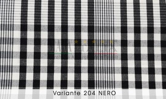 Vendita Tessuto Antimacchia Teflon Tartan Varante Nero