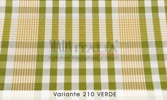 Vendita Tessuto Antimacchia Teflon Tartan Varante Verde