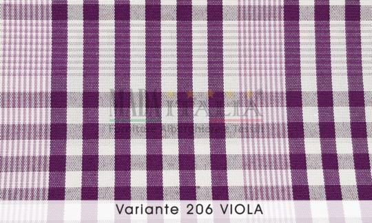 Vendita Tessuto Antimacchia Teflon Tartan Varante Viola