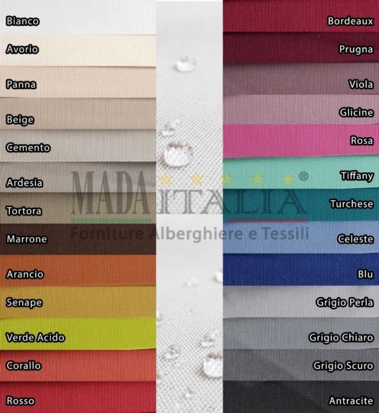Vendita Tessuto Idrorepellente Panama Colori