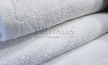 Vendita Asciugamano Spugna Set Plus 500 grammi Bianco