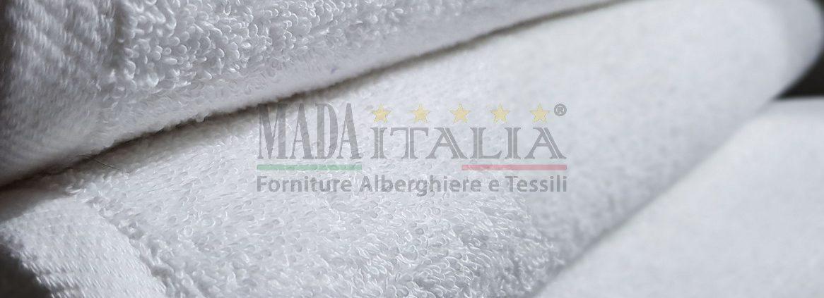 Vendita Asciugamano Spugna Telo Doccia Plus 500 grammi Bianco