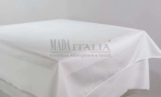 Vendita Coprimacchia Cotone Bianco Fascia Raso