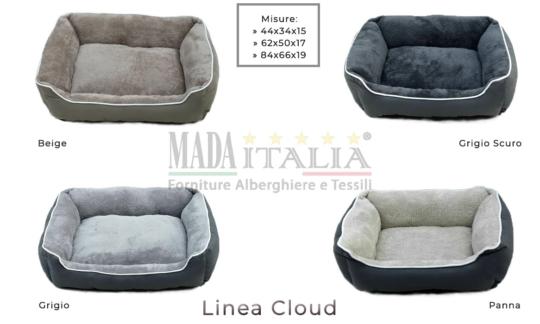 Vendita Cuccia Imbottita Cane Gatto Cloud Colori Misure
