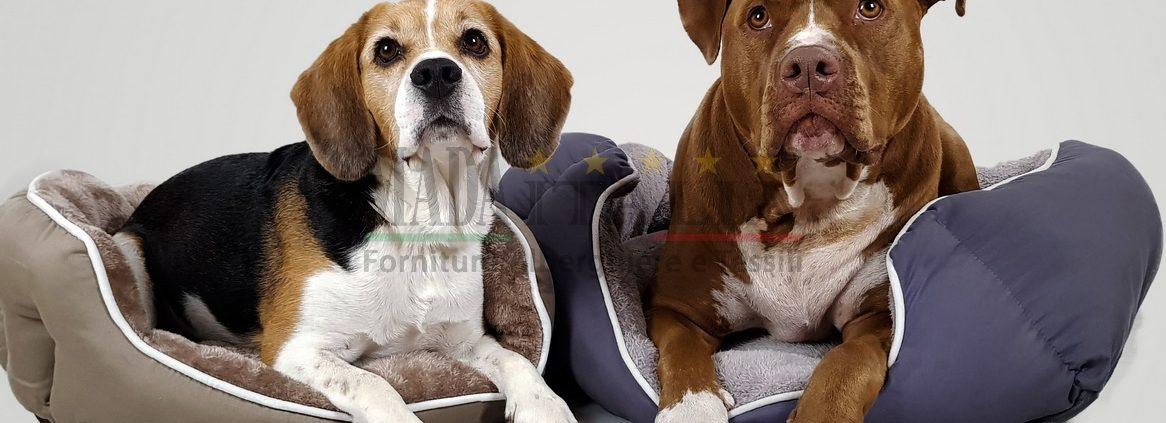 Vendita online cucce imbottite cani gatti