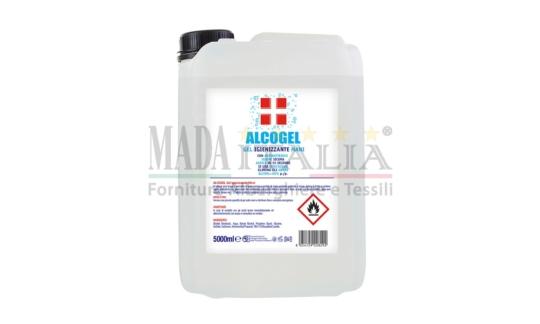 Vendita Gel Igienizzanti Mani Superfici Alcogel Tanica 5 Litri