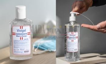 Vendita Gel Igienizzante Pulizia Mani Corpo Vivigel