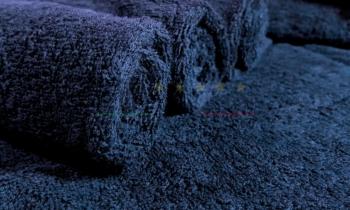 Asciugamani Spugna Italia Blu Notte 450gr/mq