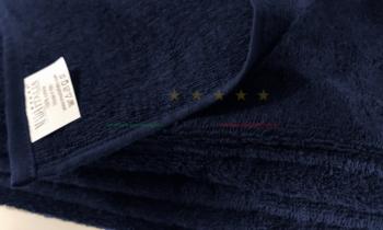 Vendita Asciugamano Spugna Viso Bagno Blu Notte 450 grammi dettaglio