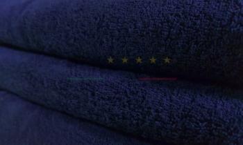 Vendita Asciugamano Telo Doccia Spugna Blu Notte 100x150 Centri Massaggi Benessere