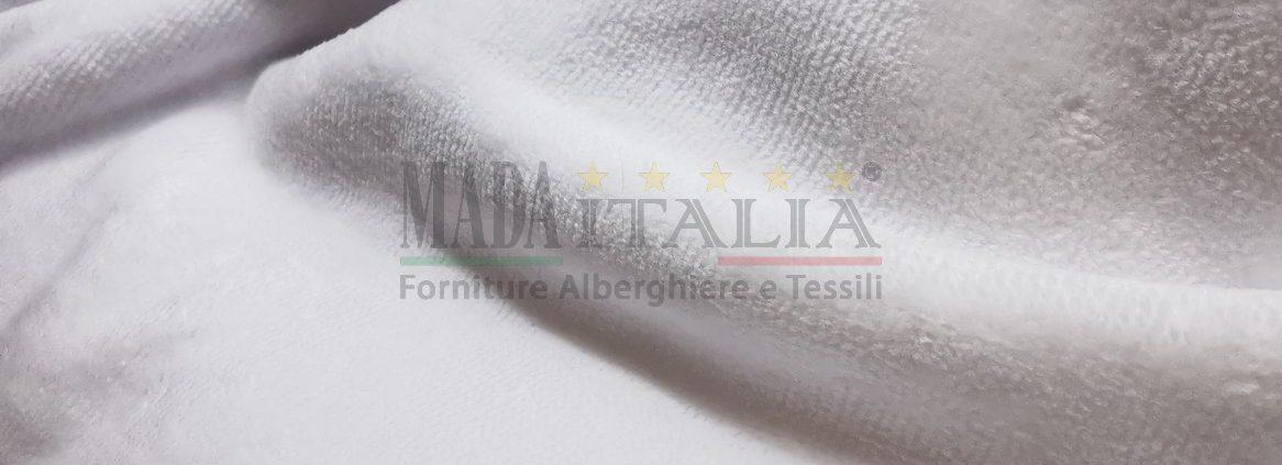 Vendita Asciugamani Spugna Ciniglia Bianca 400 grammi Dettaglio
