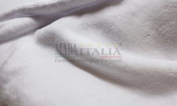 Asciugamani Spugna Ciniglia Bianco 400 gr/mq Turca