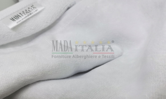 Vendita Asciugamani Spugna Ciniglia Bianco 400 grammi Dettaglio