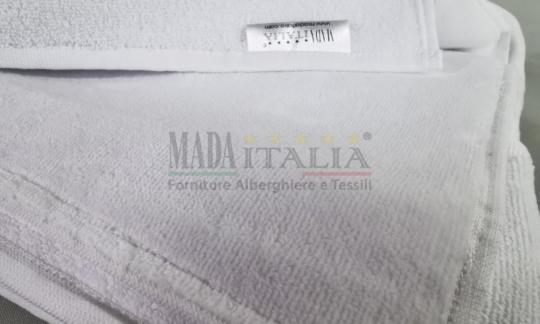 Vendita Asciugamano Spugna Ciniglia Bianco 400 grammi Ospite